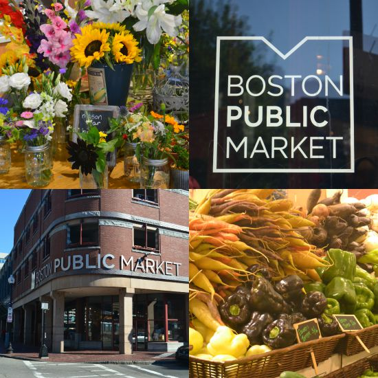 Images from the Boston Public Market Building