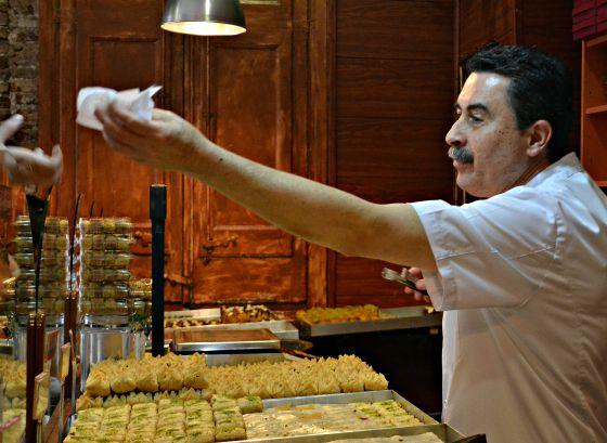Baklava in Barcelona-very tasty indeed.