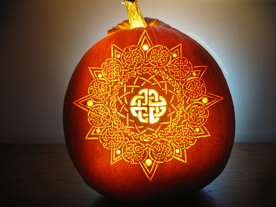 celtic ties to halloween