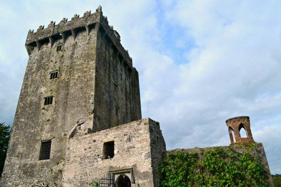 blarney castle just outside of the city of Cork.