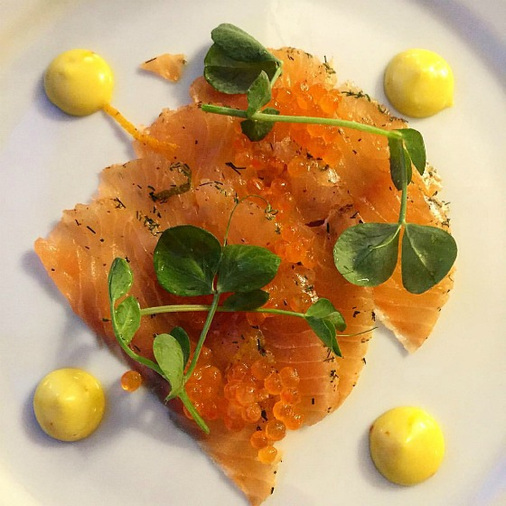 Smoked salmon is delicious in Ireland