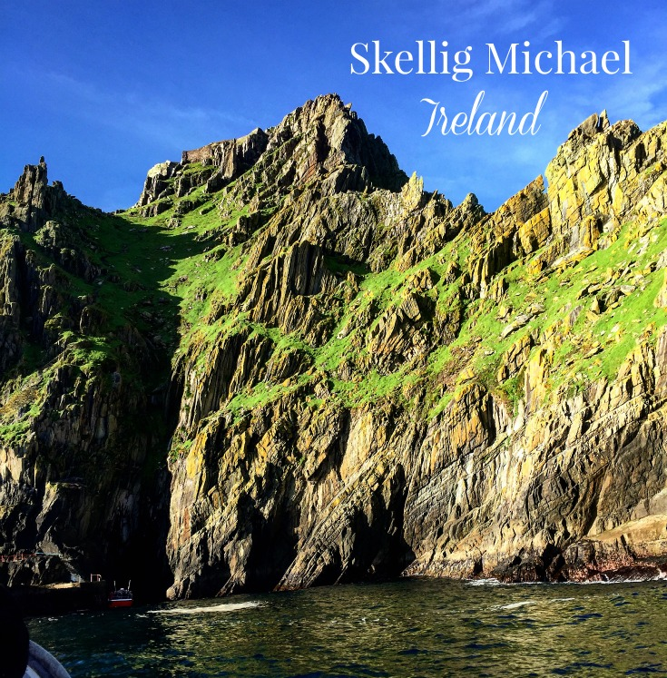 Skellig Michael Awakens on the set of Star Wars