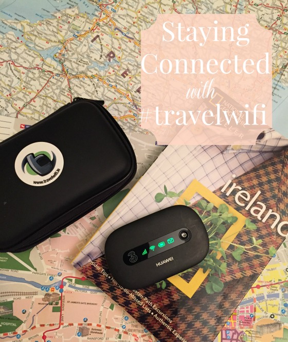 staying connected in Ireland with portable wifi