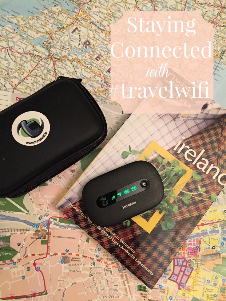 Staying connected on the road in Ireland with portable wifi.