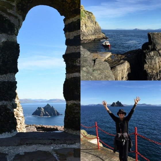 Skellig Michael awakens in Ireland