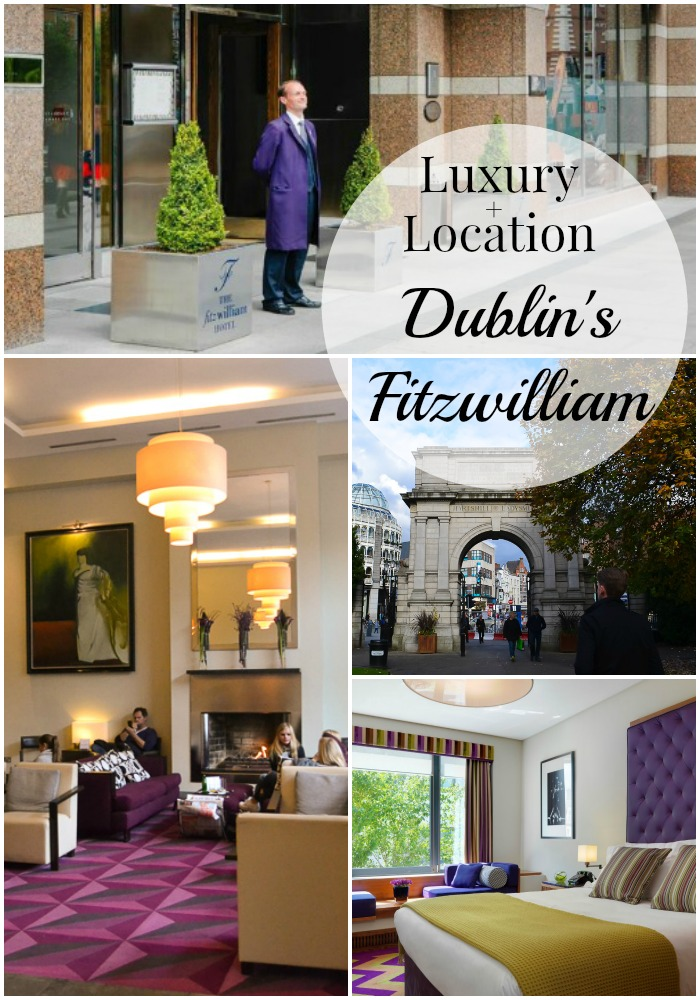 Luxury and Location at Dublin's Fitzwilliam Hotel