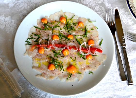 Fresh fish in cuba
