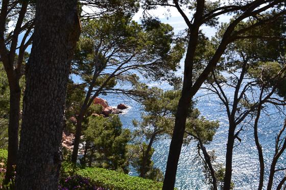 hiking in Costa Brava along the coastal trails