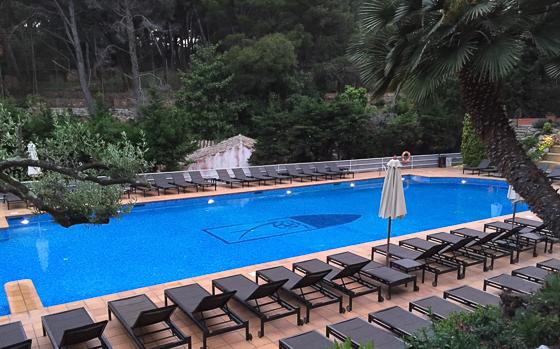 Poolside at Hotel Aigua Blava