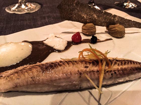 Fresh seafood on the menu