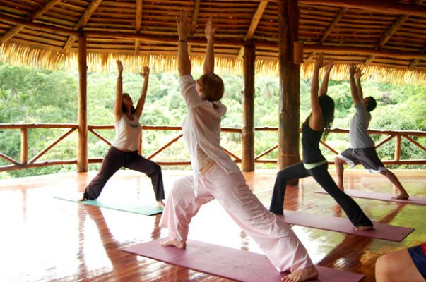 Yoga retreat ama tierra