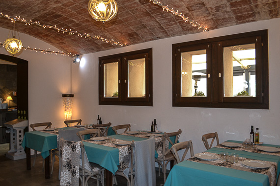 Restaurant L´India at Sant Pere del Bosc Hotel and Spa.