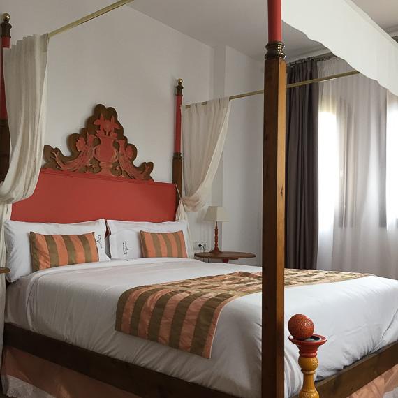 Room at the Sant Pere del Bosc Hotel