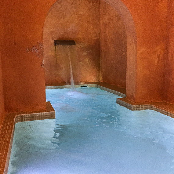 Spa at the Sant Pere del Bosc.