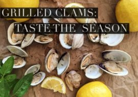 Grilled Clams on Meatless Monday