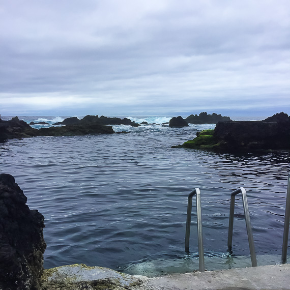 Natural pools and wellness destination the Azores