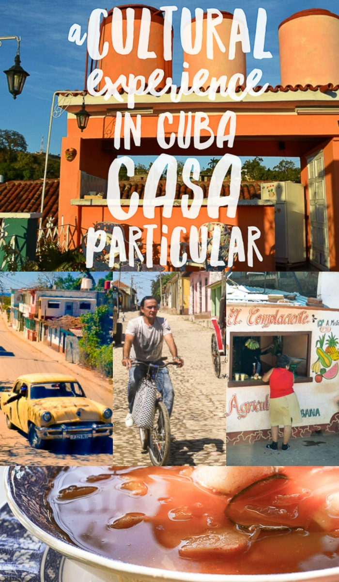 For a true cultural travel experience stay in a casa particular Cuba homestay