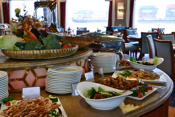 Food on Viking River Cruise