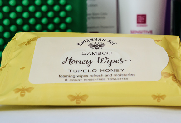 Savannah Bee bamboo wipes