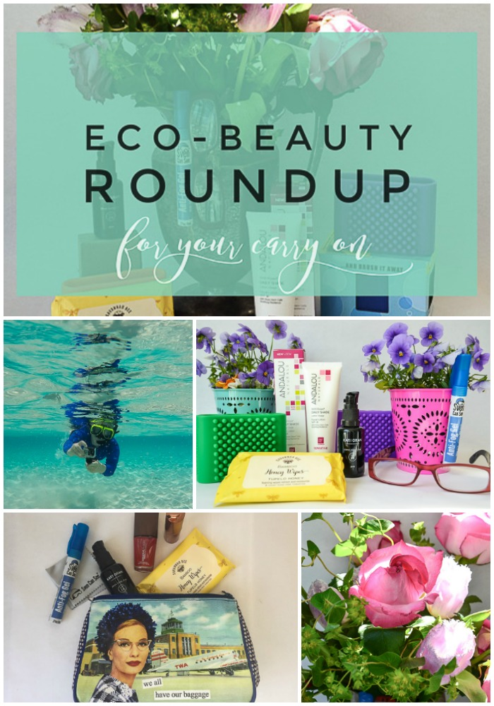 eco beauty for your travel carryon