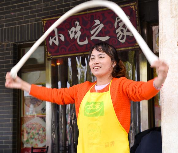 Noodle maker Xi'an