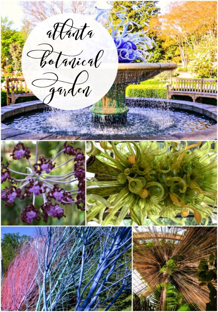 Atlanta weekend getaway at the Botanical garden