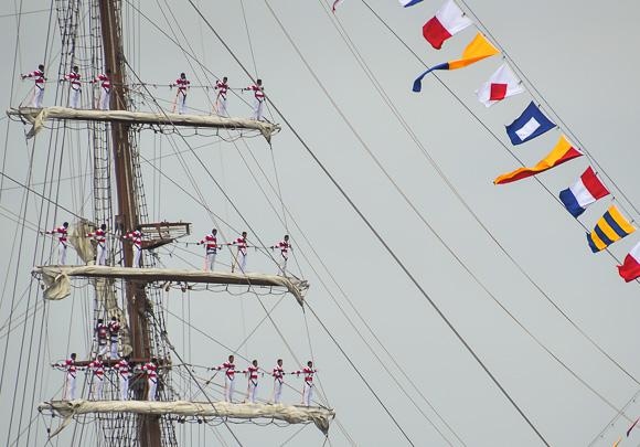 Tall ships sailboston