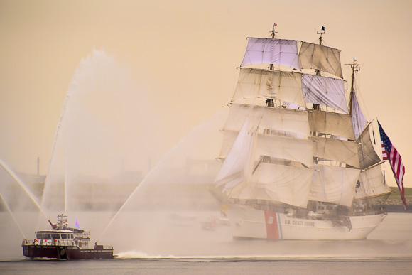 Parade of Sails Boston 2107