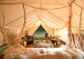 Maine Glamping with Sandy Pines
