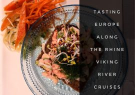 Tasting Europe a Viking River Rhine Cruise
