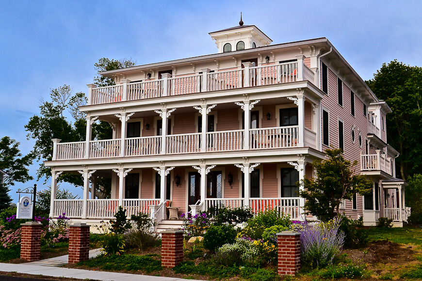 Guesthouse Saybrook Point Inn, CT