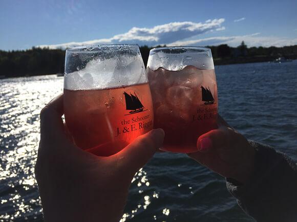 Sunset cocktails J&E Riggin