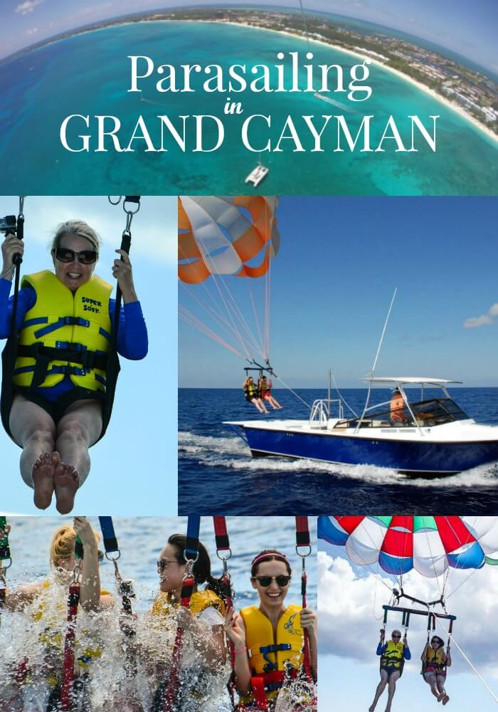 Parasailing Grand Cayman Caribbean Adventure