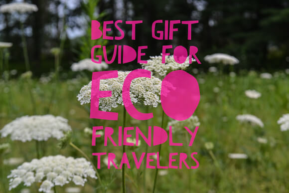 eco-friendly Gift guide for the responsible traveler