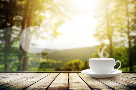 Sustainable lifestyle coffee