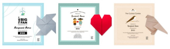 Sustainable lifestyle gifts