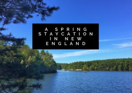 New England Staycation Celebrates Spring