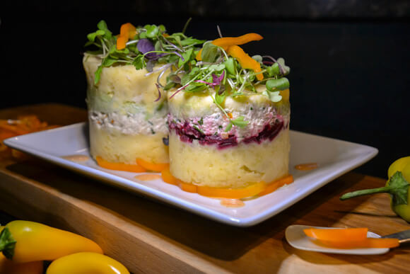 Tasting Peru with causa