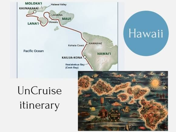 Itinerary Uncruise Adventures Hawaii
