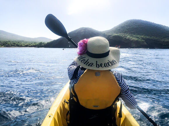 Kayak UnCruise Adventure in Hawaii