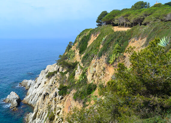 hiking on a Luxurious getaway in Costa Brava