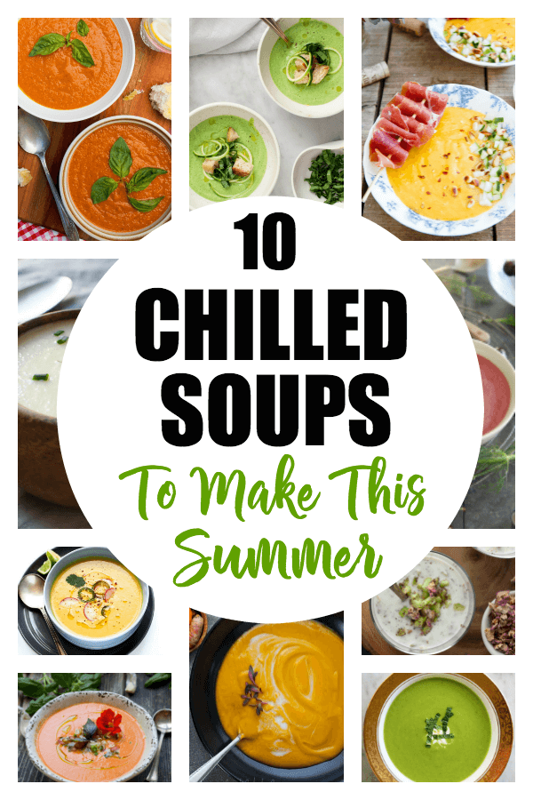 Healthy Chilled Soups for Summer | Farmer's Markets | USA