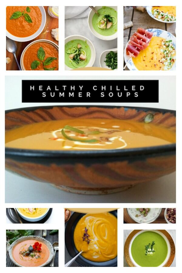 Healthy Chilled Soups from your local Farmers Market | USA |North America