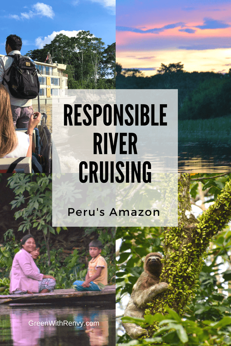 Responsible river cruising Peru's Amazon