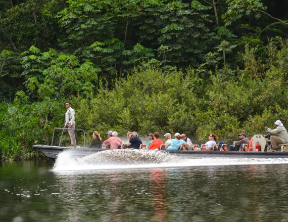 Responsibly cruising Peru's Amazon