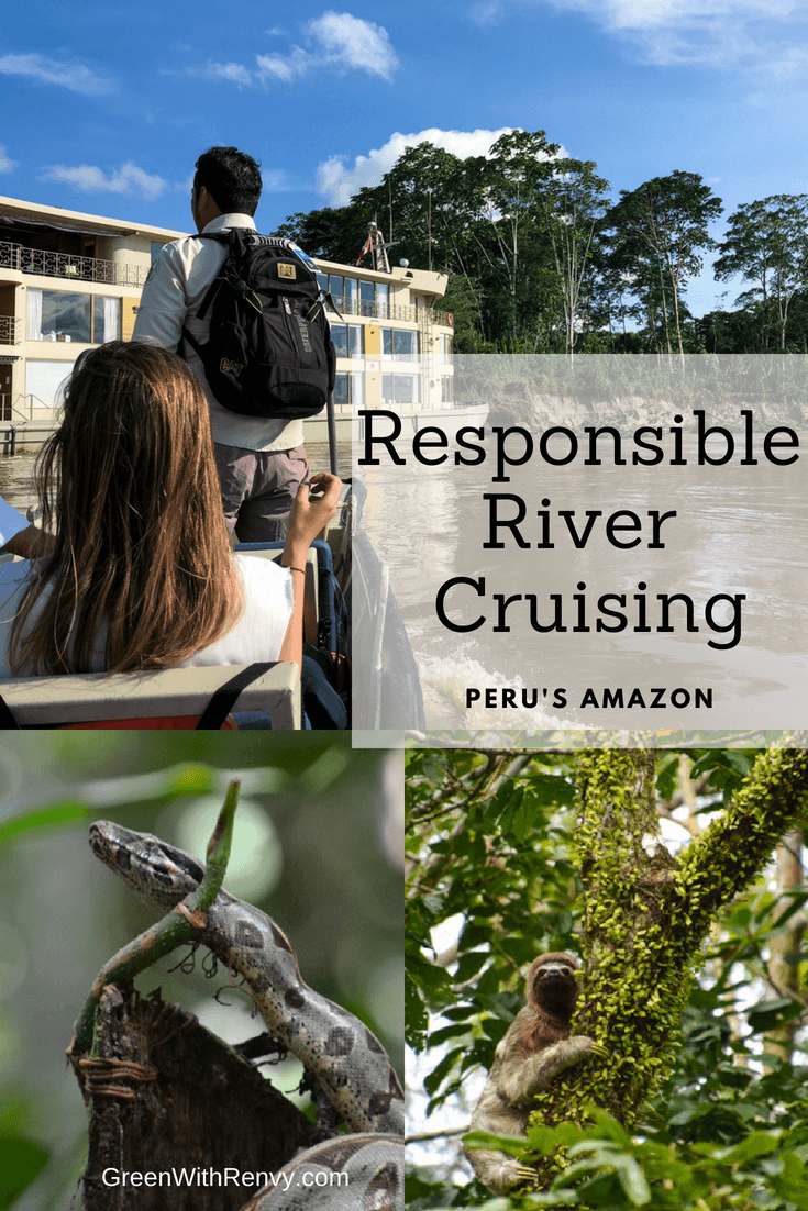 Responsible River Cruising Peru