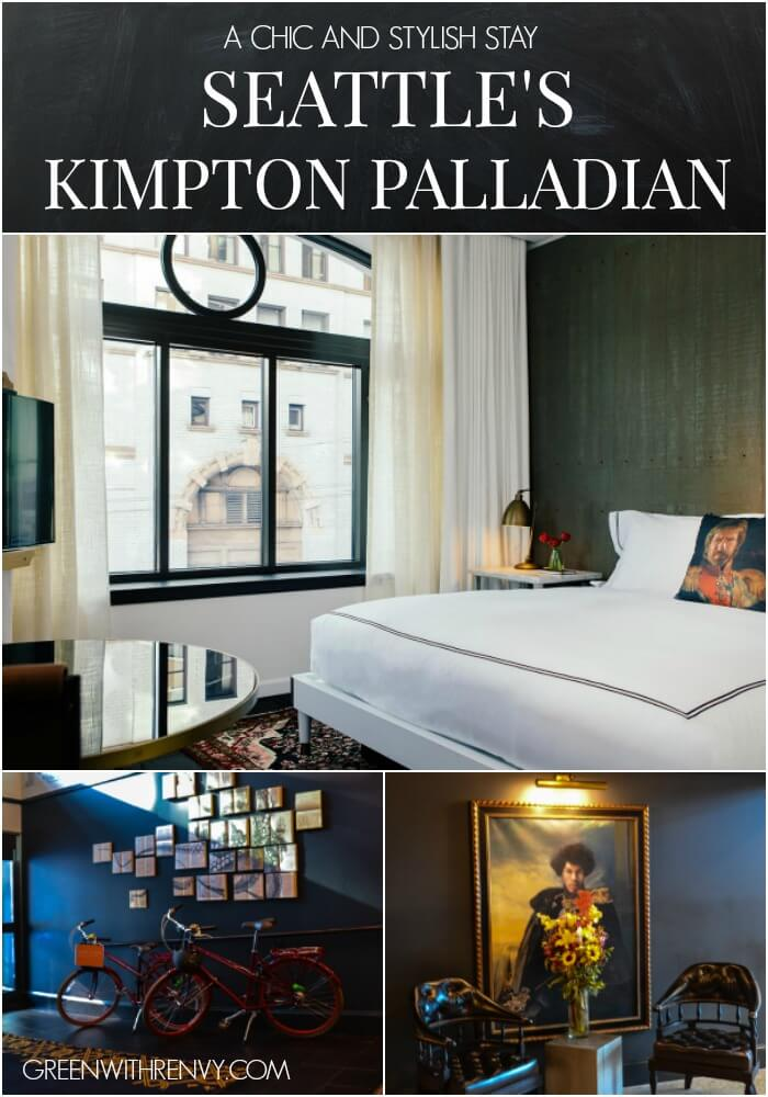 A chic and sexy stay at the Seattle Kimpton Palladian. | Washington, USA
