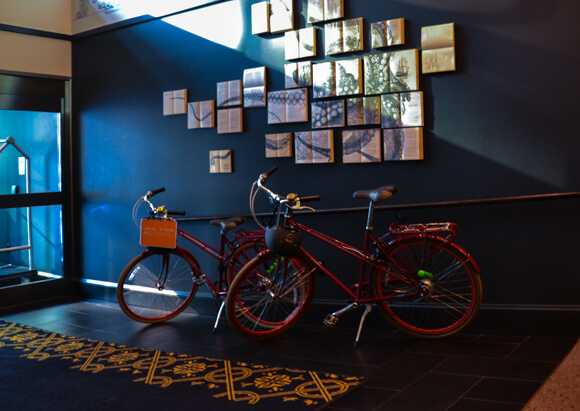 Bikes available at Seattle Kimpton Palladian