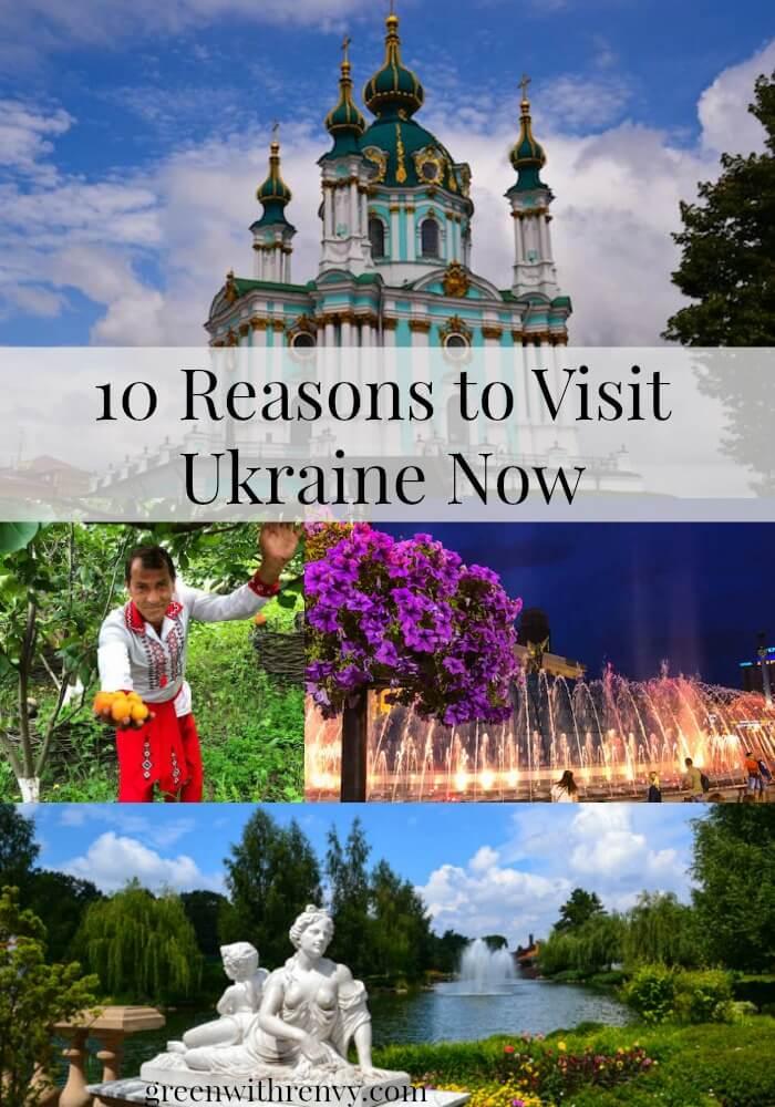 visit Ukraine now collage