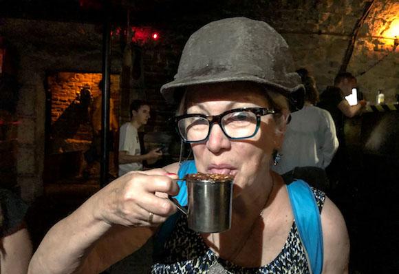 Underground coffee culture Ukraine L'viv